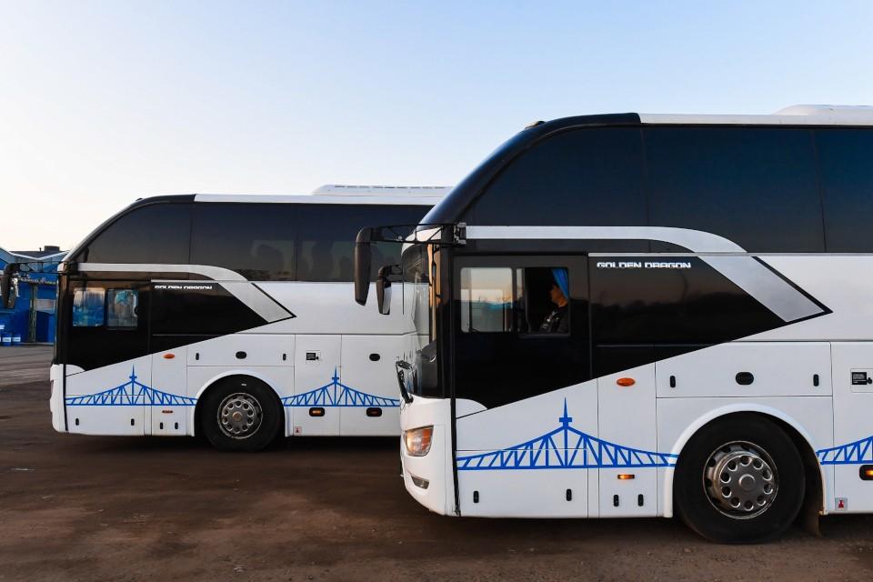 Новые междугородние автобусы. Фото: Транспорт Верхневолжья