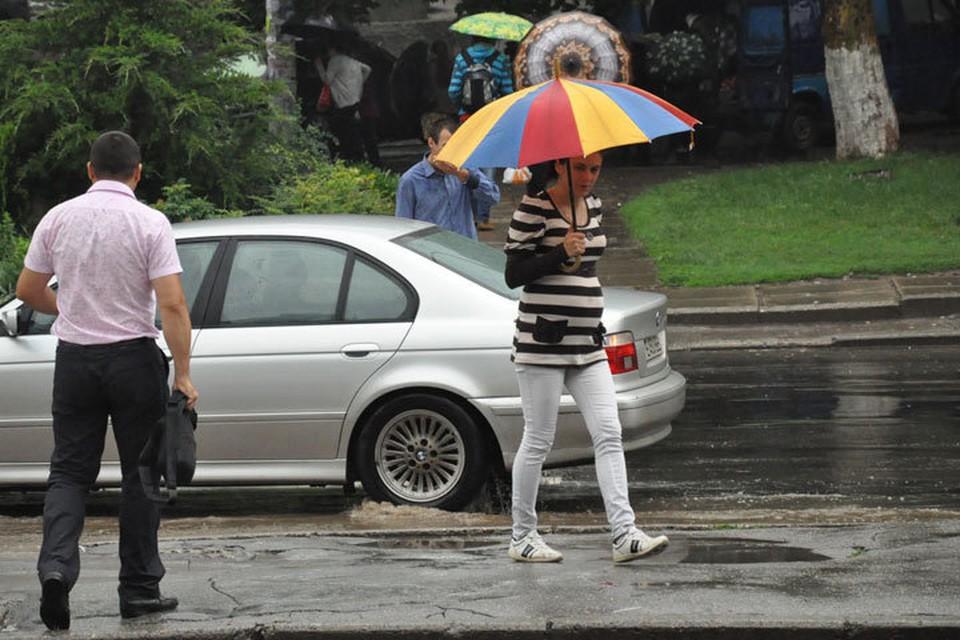 Завтра нам опять обещают дожди.