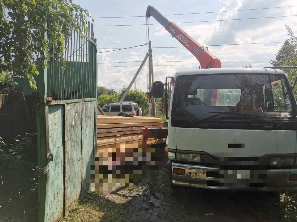Трагедия произошла на стройке в Поливановке