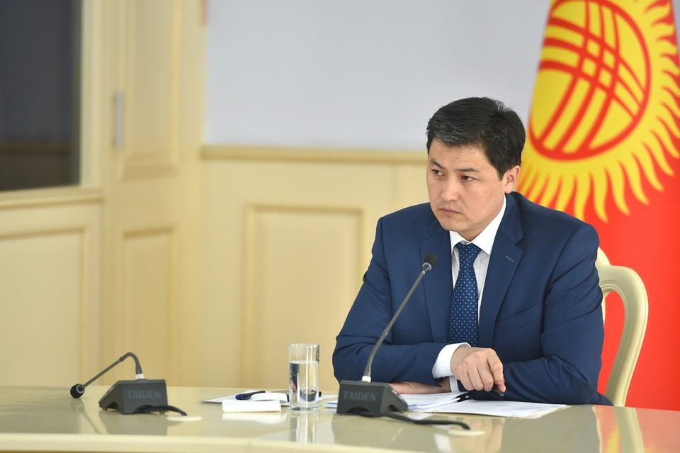 Марипов провел совещание с налоговиками.