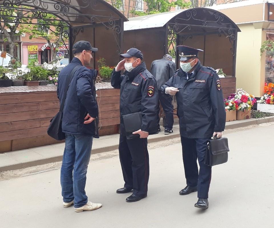 Более четырехсот нарушений масочного режима выявили полицейские в Тульской области за минувшую неделю