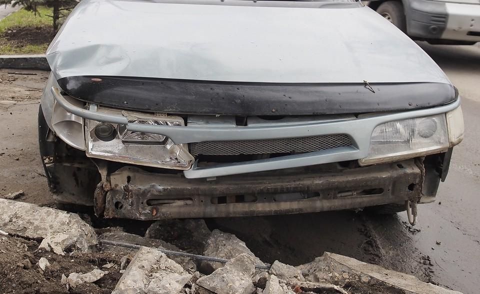 В аварии на улице Рязанской в Туле пострадали три человека