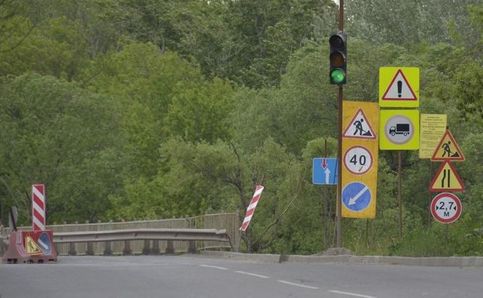 Баташевский мост в Туле окончательно отремонтируют к концу 2022 года