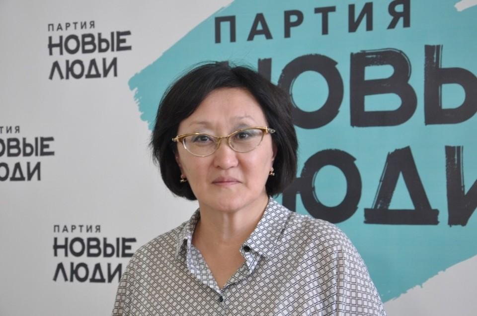 Сардана Авксентьева: Надо убеждать людей приходить на выборы.