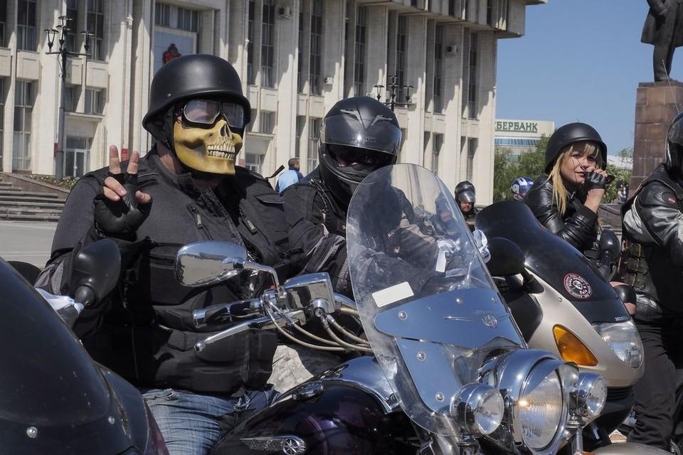 В День России по центральным улицам Тулы проедут байкеры в карнавальных костюмах