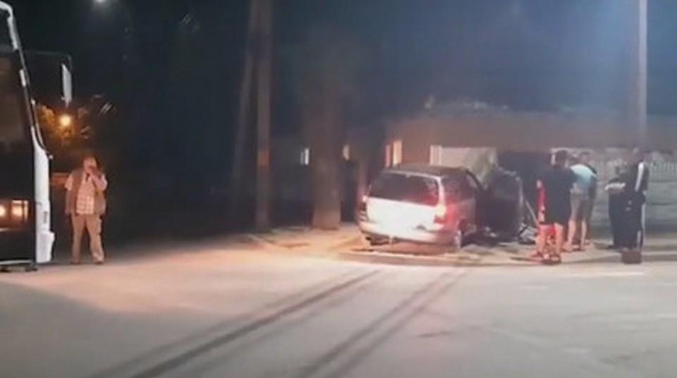 ДТП в Кагуле. Фото: скриншот видео