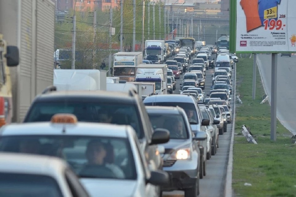 Рассказываем про пробки в Новосибирске на утро 9 июня 2021.