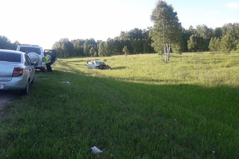 В аварии погибла 45-летняя женщина. Фото: ГИБДД по НСО,