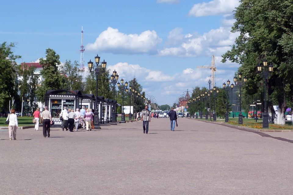 На благоустройство территории тобольского Кремля выделят 32 млн рублей.