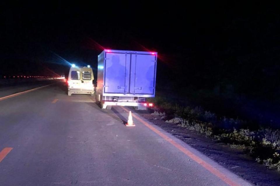 Несчастный случай произошел около 23 часов Фото: отдел пропаганды УГИБДД