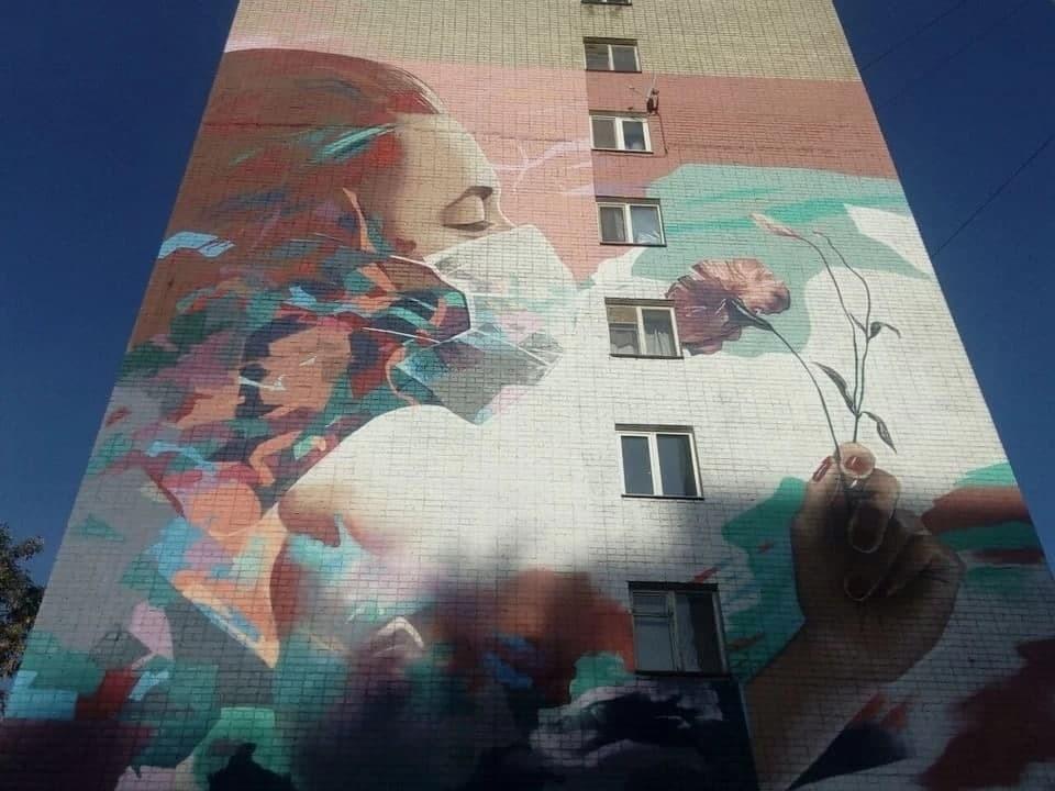 В прошлом году второе место на конкурсе заняла работа саратовского художника «Цветы жизни»