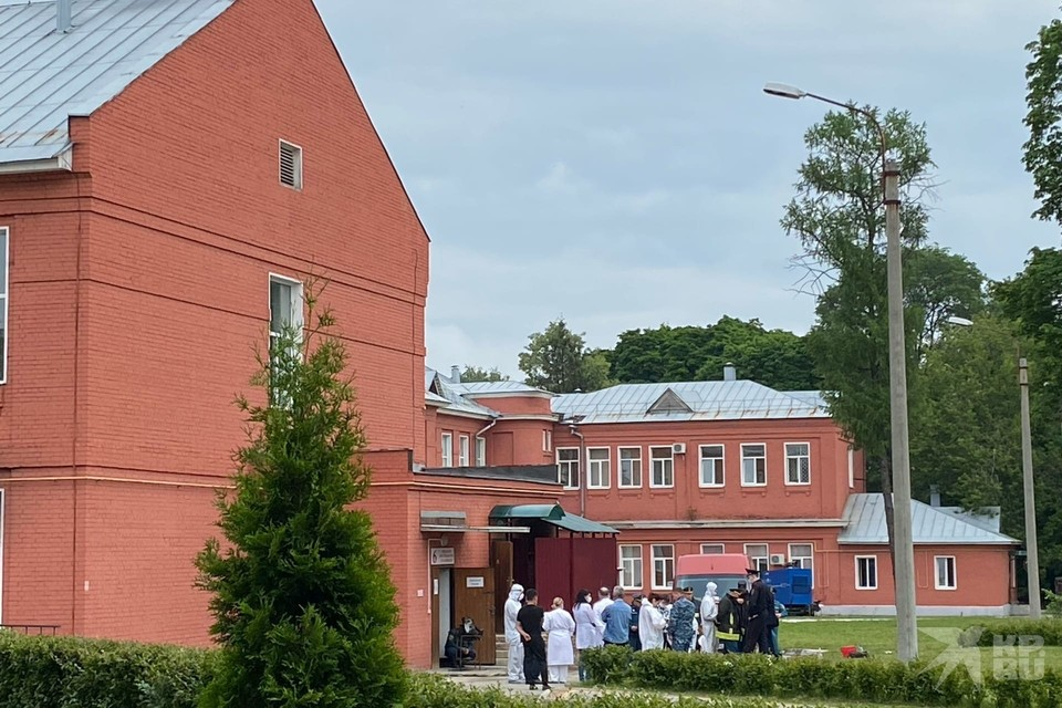 Подробности о пожаре в больнице имени Семашко.