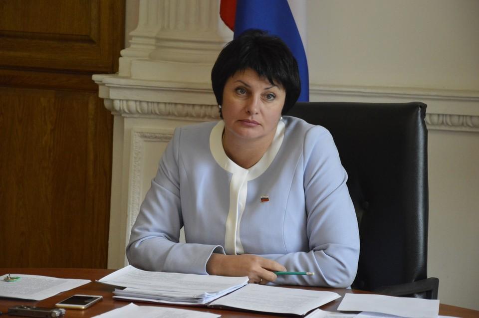 Вице-спикер Заксобрания Татьяна Лобач