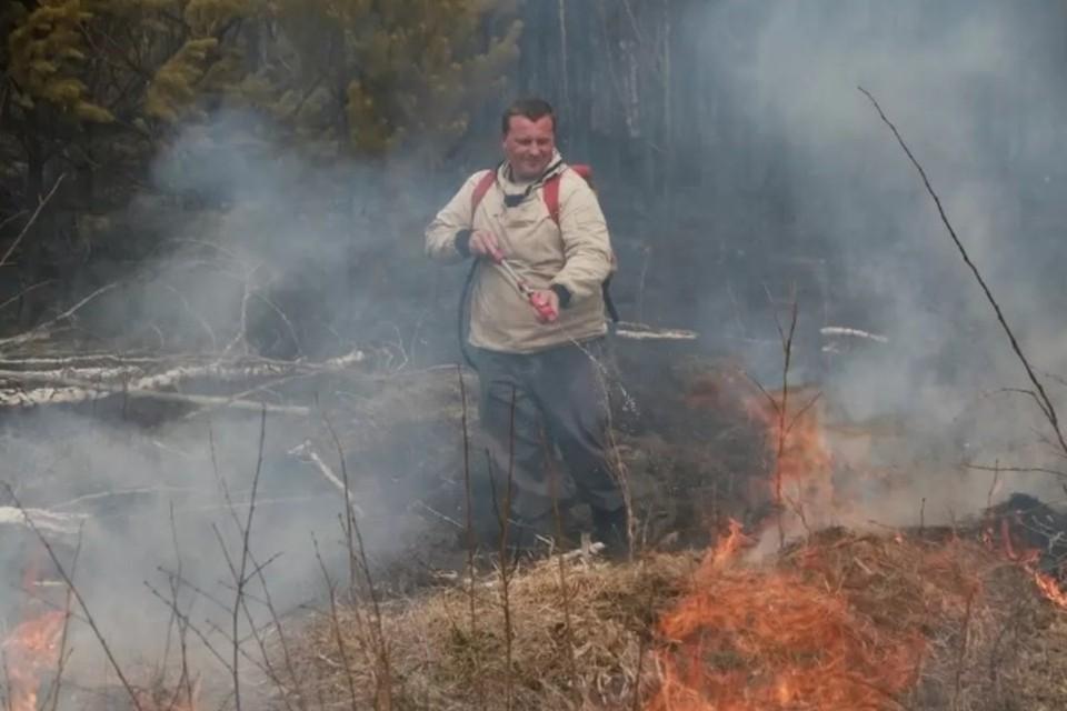 По сравнению с прошлым годом пожаров произошло больше.