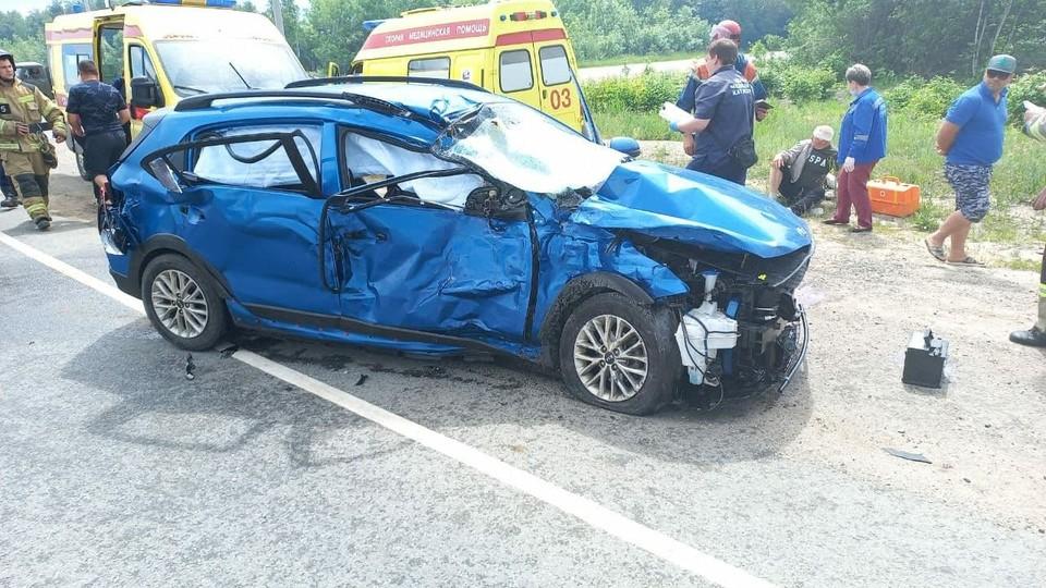 Авария в Саратовском районе