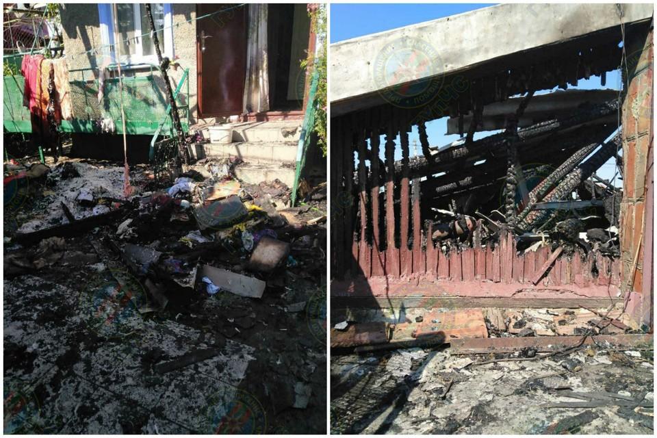 К счастью, в пожаре никто не пострадал (Фото: МВД Приднестровья).