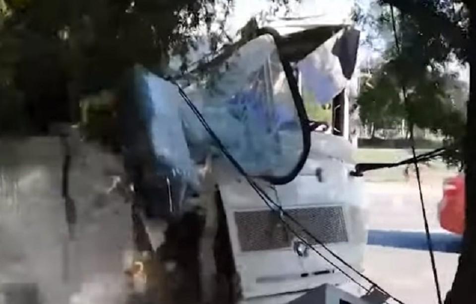 Кадр из видеозаписи с канала youtube