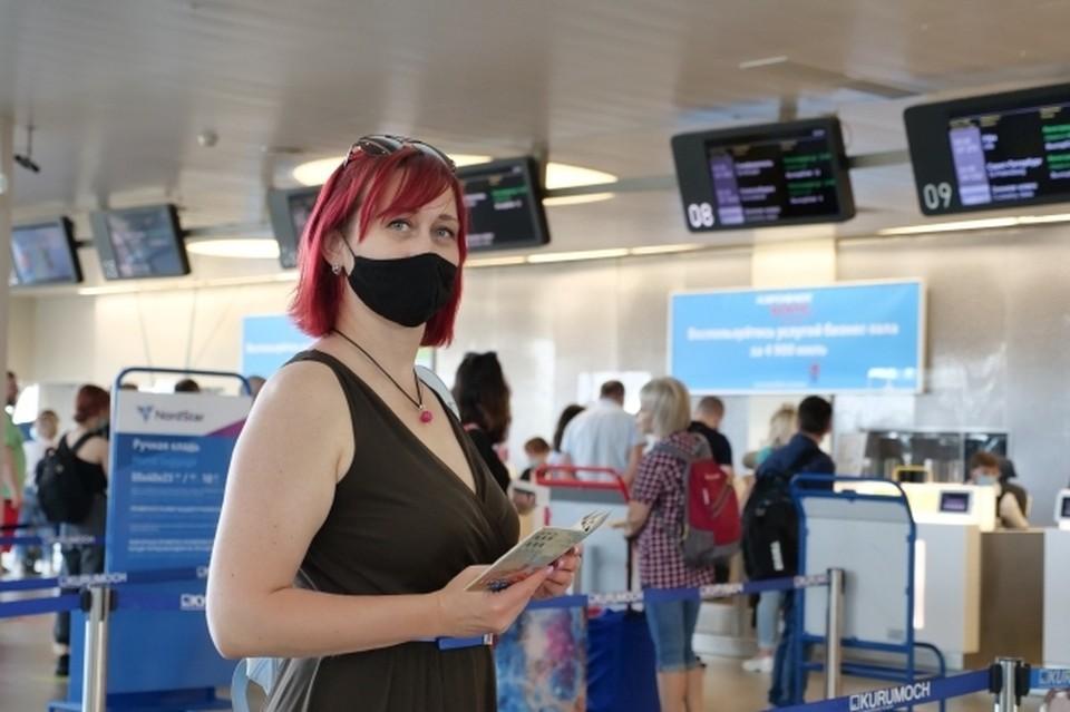 Не забывайте о масках в отпуске!