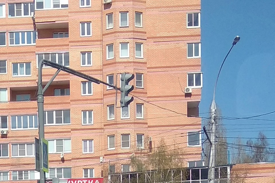 У Кольцевой в Липецке погасли светофоры