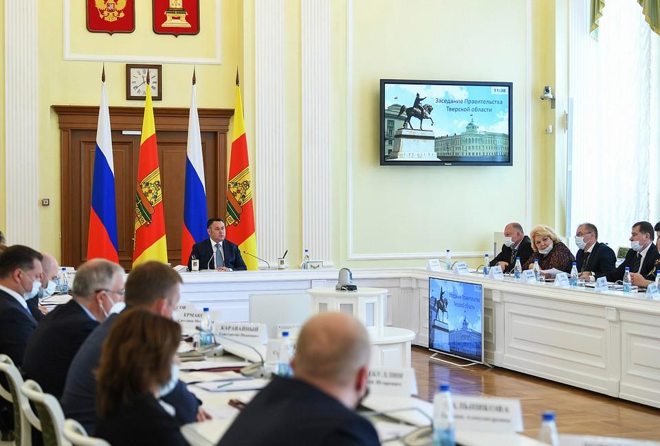 В правительстве обсудили вопросы поддержики бизнеса Фото: ПТО