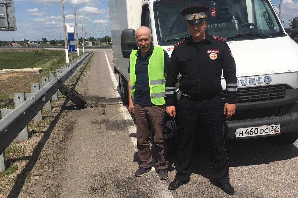 Инспекторы помогли мужчине