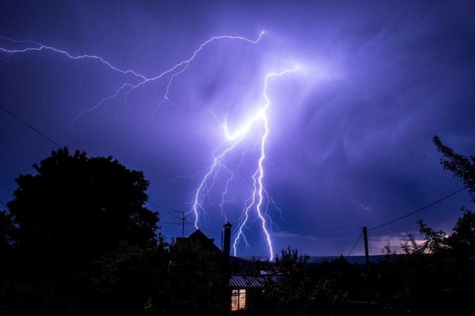 11 июня синоптики прогнозируют дождь с грозами