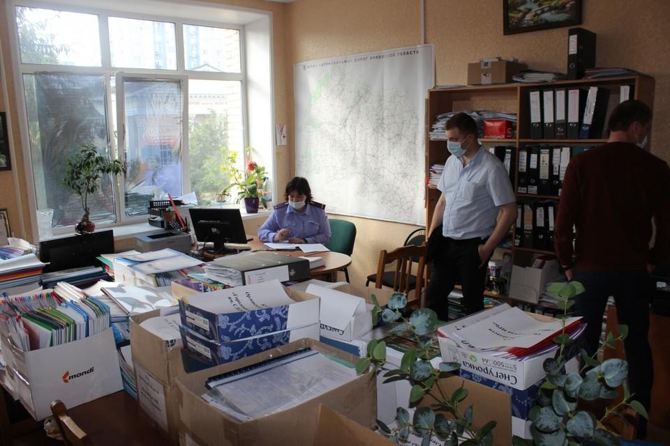 В облздраве вновь идут обыски. Фото: СУ СК России по Орловской области