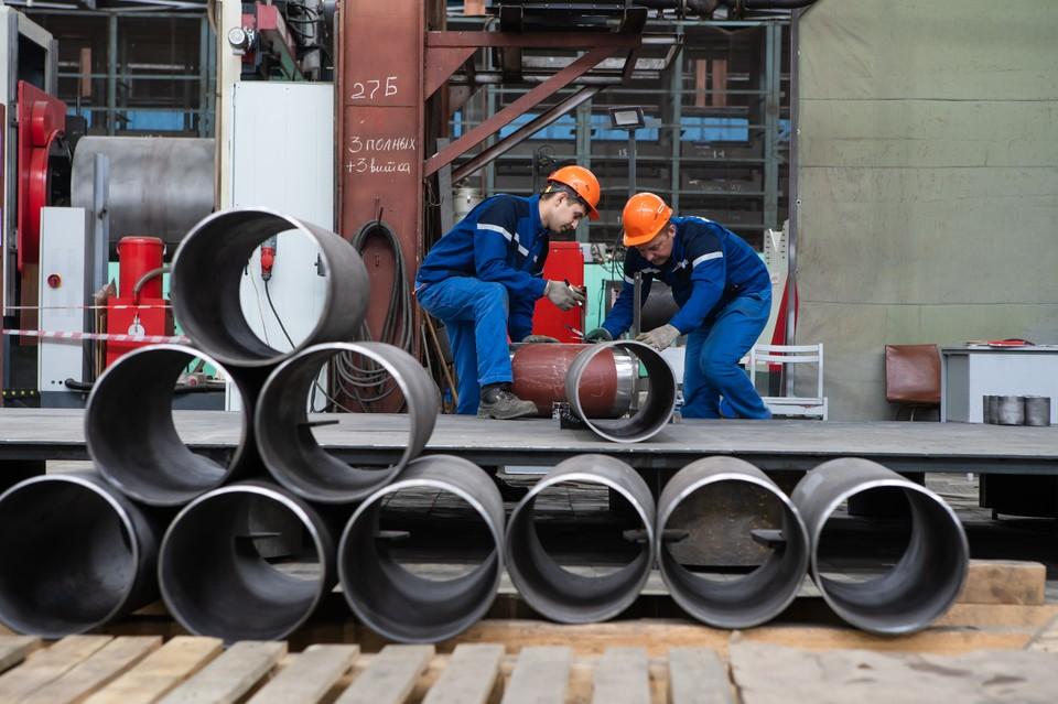 Свыше 130 новых рабочих мест появилось в Нижегородской области в связи с открытием производства трубопроводных систем. ФОТО: Дмитрий Марков