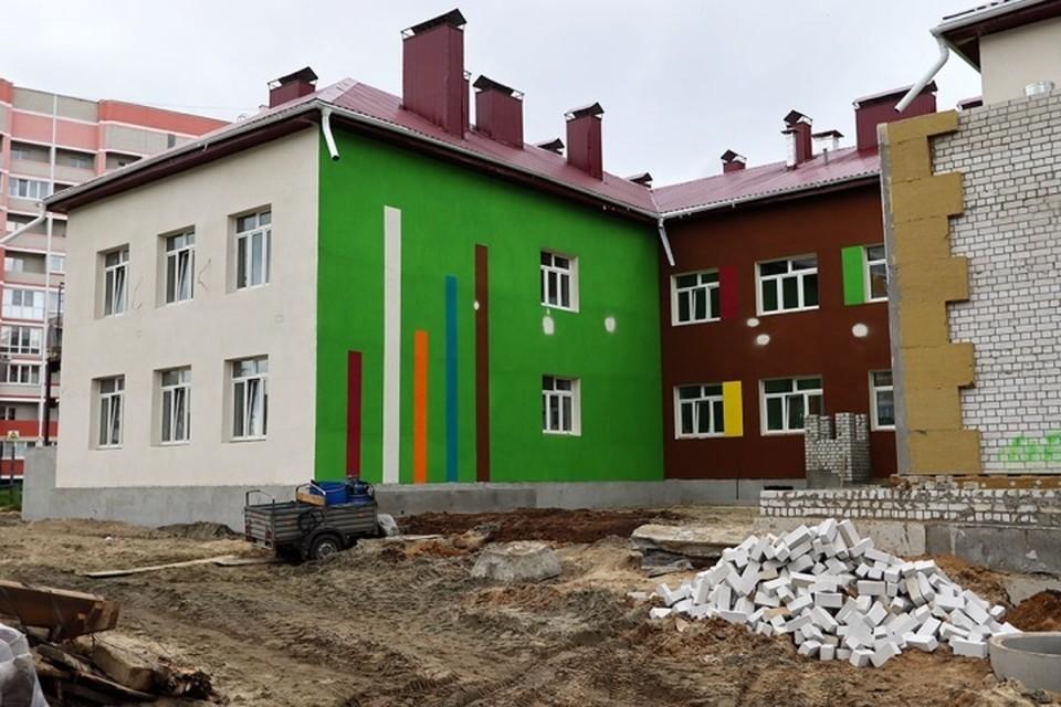 В Брянске готово здание нового детского сада на 270 мест.