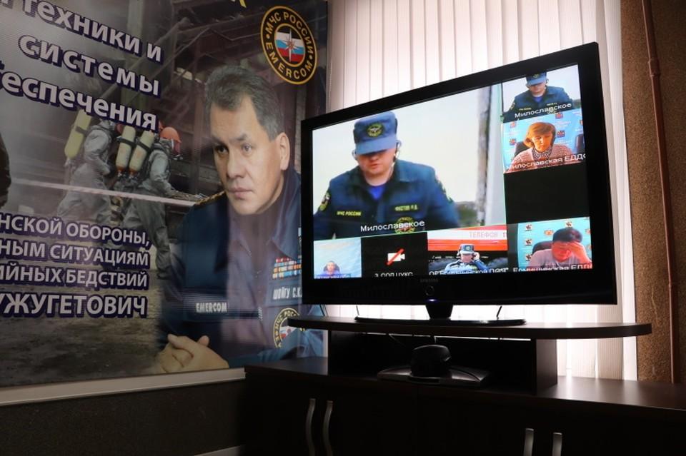 Рязанское МЧС продолжает выпускать новости с фотографией бывшего министра Сергея Шойгу.