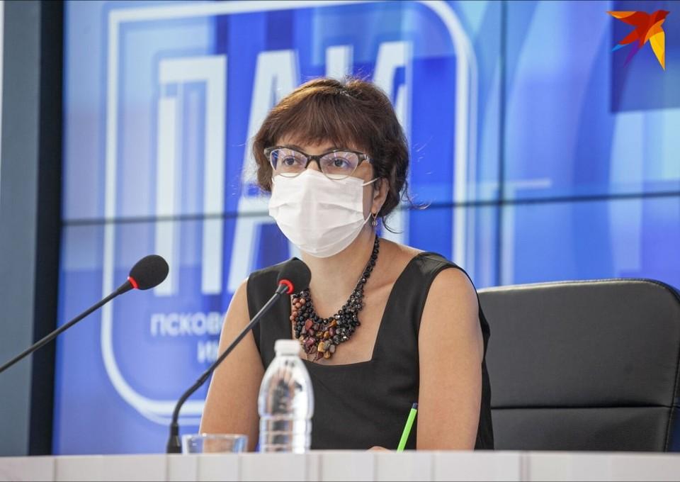 Главный врач Псковской областной инфекционной больницы Анастасия Повторейко