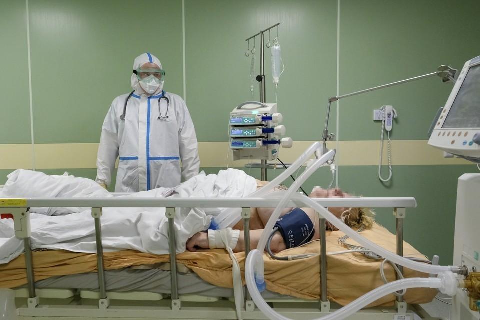 41 заболевший в Пермском крае в тяжелом состоянии на аппаратах ИВЛ.