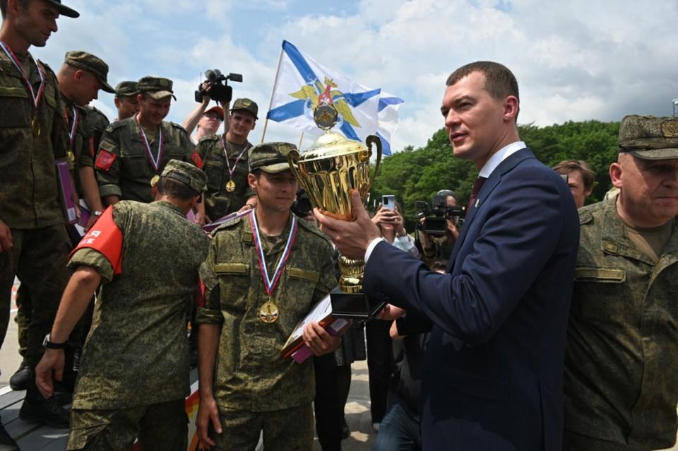 Победители краевого этапа соревнований отправятся во Вьетнам, где представят Россию на Армейских международных играх.