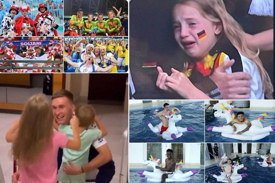 Незабываемые моменты Евро-2020. Фото: соцсети