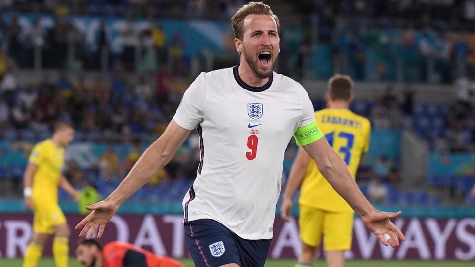 Кейн забил победный гол Дании. Фото: Reuters
