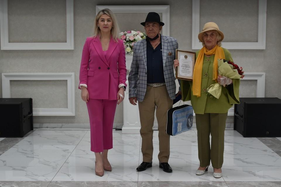 В центре народного творчества состоялась церемония вручения медалей семьям «За любовь и верность»