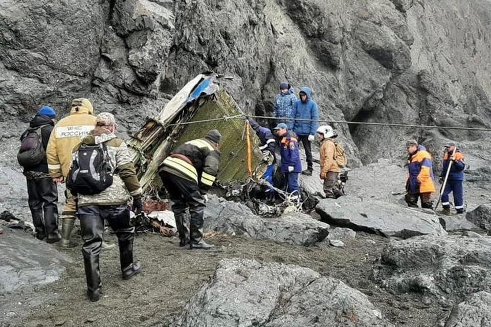 На Камчатке продолжаются поиски экипажа и пассажиров Ан-26. Фото: ГУ МЧС России по Камчатскому краю.