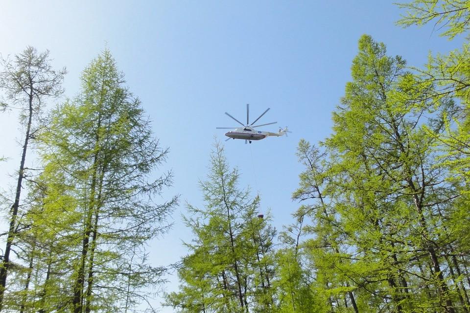 Искусственные дожди вызовут для тушения пожаров на севере Иркутской области