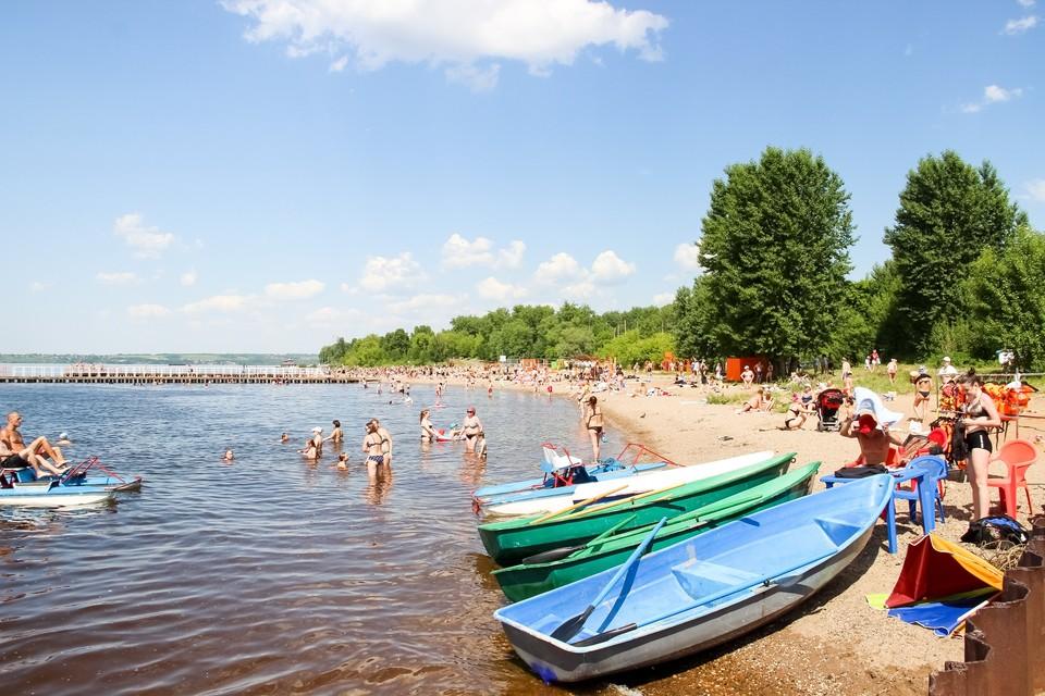 В Перми открыты пять официальных пляжей: