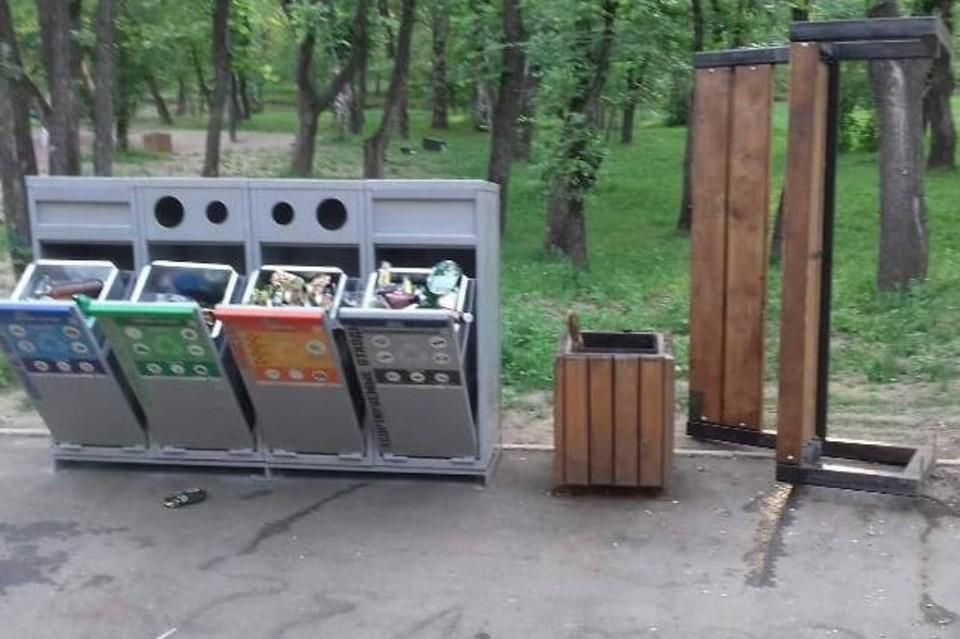 Вознаграждение объявлено за информацию о разгромивших Лисихинский парк вандалах в Иркутске