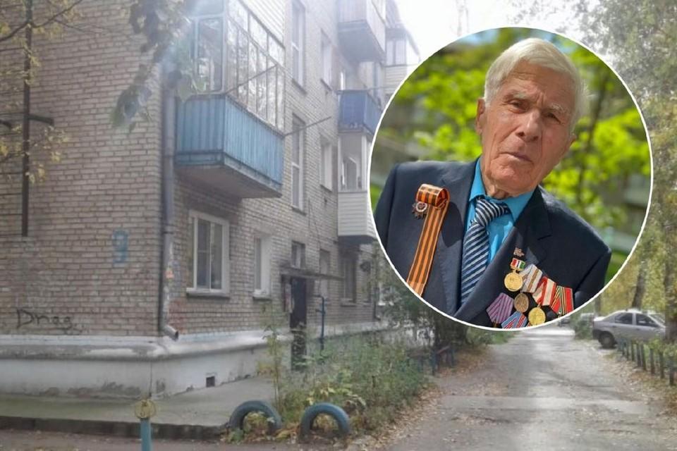 Фронтовик жил в этом скромном доме со своей супругой. Фото: Сибкрай.ру/семейный архив героя