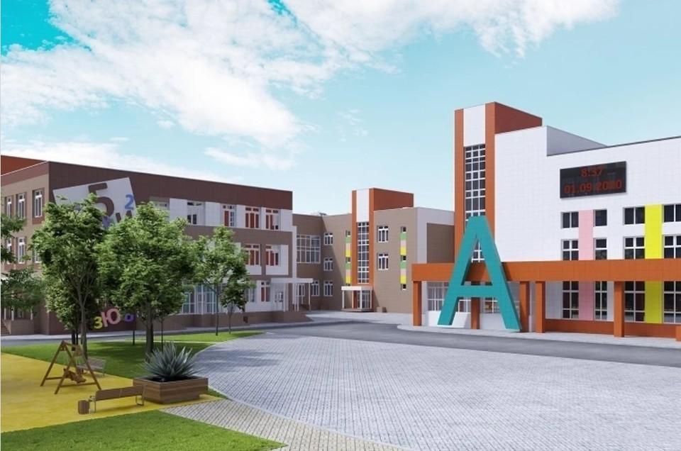 Школа будет состоять из трех корпусов. Фото: сайт правительства Ростовской области