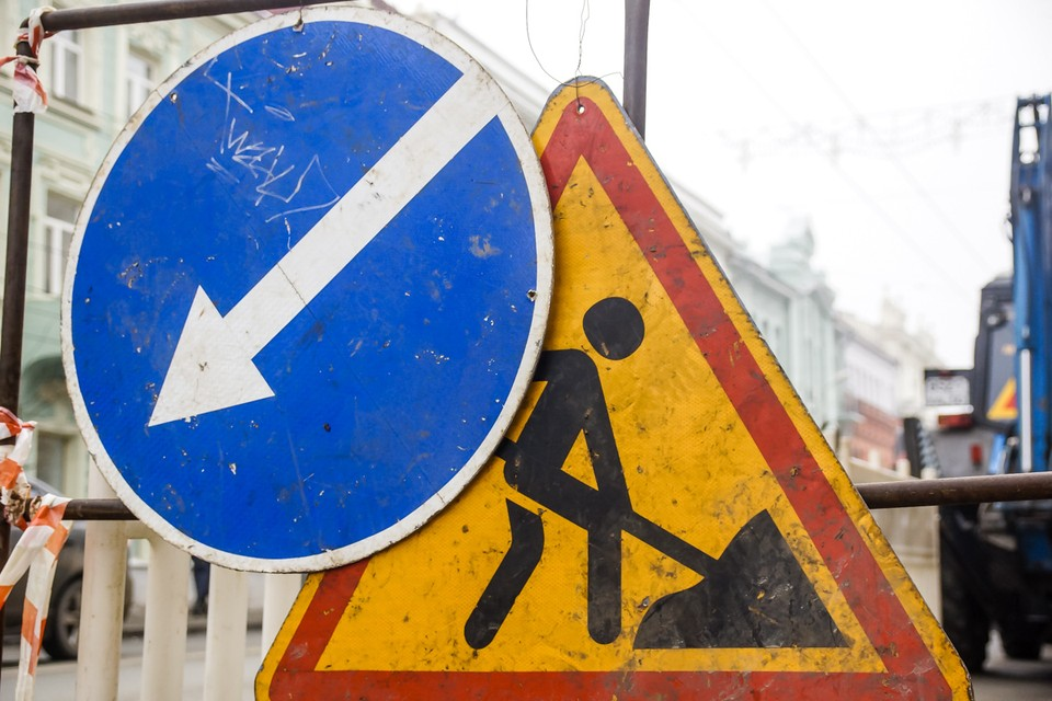 В Самаре из-за ремонта дорог ввели новые ограничения