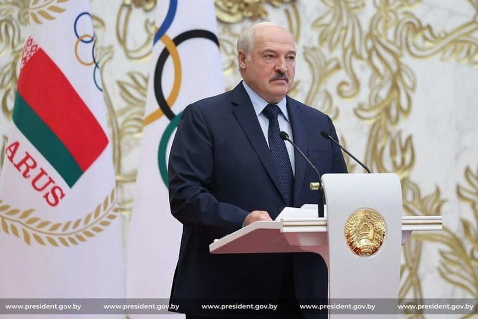Лукашенко напутствовал олимпийцев 9 июля. Фото: president.gov.by