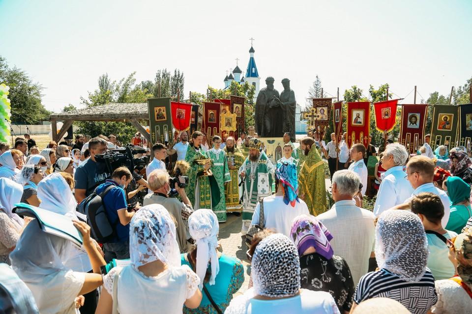 В Астрахани благодаря поддержке депутатов Государственной думы состоялся праздник в честь Дня семьи, любви и верности