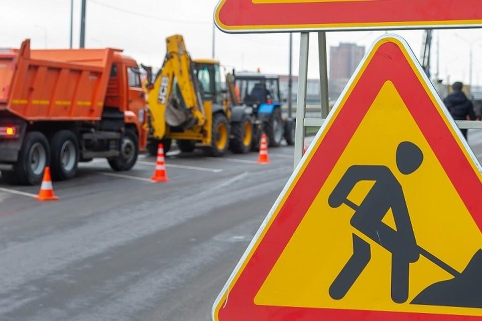 Дорожные работы ограничат проезд на Дунайском проспекте.