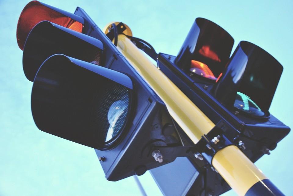 В Туле установили новый светофор