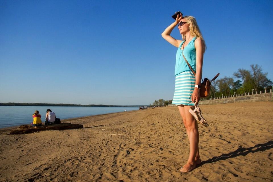 В Самарской области все еще жарко