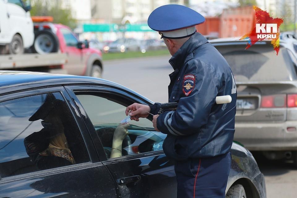 В Красноярском крае задержали пьяного подростка за рулем