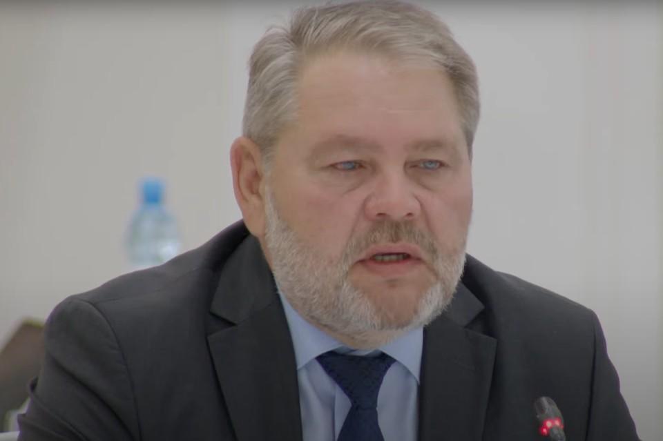 Заместитель председателя правительства Сахалинской области Сергей Олонцев